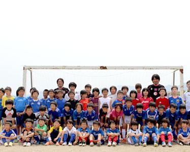 東北復興支援サッカークリニックキャラバン2013 写真